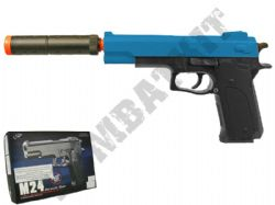 M24 BB Gun Colt Double Eagle Replica Airsoft Spring Pistol 2 Tone Colours